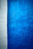 Obscuridade da textura de Grunge - vertical azul Fotografia de Stock
