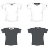 Obscuridade do t-shirt de Balnk - cinza Imagem de Stock