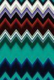 Obscuridade do ziguezague de Chevron - o fundo verde da arte abstrato do teste padrão tende ilustração royalty free