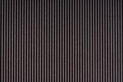 Obscuridade listrada - papel gravado cinza Papel colorido Fundo preto da textura Fotografia de Stock Royalty Free