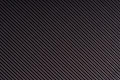 Obscuridade listrada - papel gravado cinza Papel colorido Fundo preto da textura Foto de Stock Royalty Free