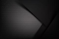 Obscurité abstraite de fond avec l'illust de vecteur de texture de fibre de carbone illustration stock