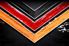 Obscurité abstraite de triangle Photos stock