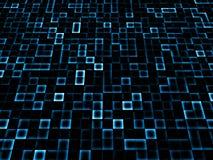 obscurité bleue abstraite Images libres de droits