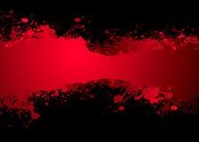 Obscurité de drapeau de sang Image stock