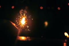 Obscurité de mise à mort avec la lumière photographie stock libre de droits