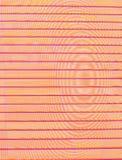 Obscurité horizontale - orange - rayures pourpres sur le fond inégal des cercles concentriques photo libre de droits