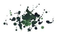 Obscurité tirée par la main d'aquarelle abstraite d'aquarelle Photo libre de droits