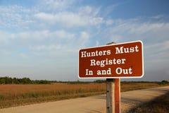 Observação aos caçadores fotos de stock royalty free
