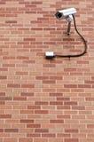 Observação da câmara de segurança Imagens de Stock Royalty Free