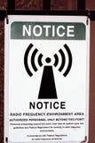 Observação da radiofrequência fotografia de stock royalty free