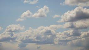 Observação do tempo A origem das nuvens no tempo-lapso video estoque