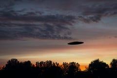 Observação do UFO Fotos de Stock