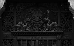 Observación de los dragones Imagenes de archivo