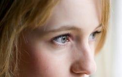 Observación de los ojos Fotos de archivo