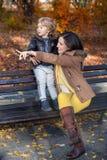 Observación de otoño Foto de archivo libre de regalías