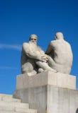 Observación - parque de escultura de Vigeland Fotos de archivo libres de regalías