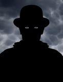 Observador misterioso Fotografia de Stock