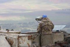 Observadores do UNIFIL Fotos de Stock