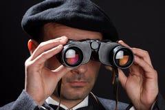 observatör Arkivfoton