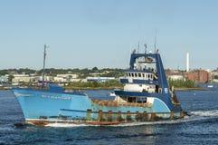 Observateur de mer de Clammer I New Bedford partant images libres de droits