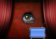 Observateur de observation Photographie stock libre de droits