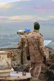 Observateurs d'UNIFIL photo stock