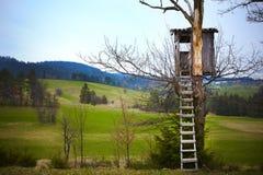 Observatie of vooruitzicht voor huntsman Stock Foto's