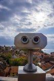 Observation binoculars ,Antalya old town, Antalya old city Royalty Free Stock Images