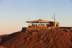 Observation Building on Haleakala Royalty Free Stock Photos
