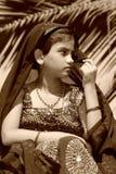 Observation de fille de Marwadi Images stock