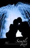 observation de fontaine de couples Photo libre de droits