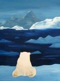 Observation de la glace images libres de droits