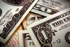 Observation de votre argent Images libres de droits