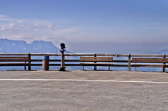 Observation deck in Bavaria Royalty Free Stock Photography