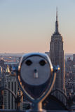 Observation Deck binoculars Royalty Free Stock Photo
