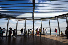 Observation Deck of Burj Khalifa, Dubai Stock Image