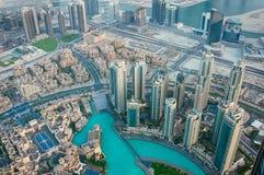 Observation deck Burj Khalifa Stock Images