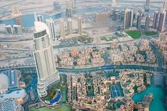 Observation deck Burj Khalifa Stock Photo