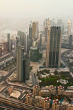Observation deck Burj Khalifa the highest building in the world Stock Photo