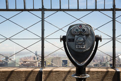 Observation deck of Empire State Building Royalty Free Stock Photos