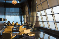Observation deck Etihad towers Royalty Free Stock Images