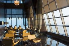 Observation deck Etihad towers. Two, Abu Dhabi. UAE, United Arab Emirates royalty free stock images