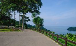 Observation deck on the island of Koh Chang Royalty Free Stock Photography