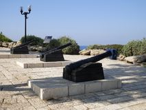 Observation deck in Jaffa Royalty Free Stock Photos