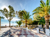 Observation deck in Mijas Royalty Free Stock Photo