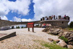 Observation Deck Mount Mitchell North Carolina Royalty Free Stock Photo