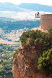 Observation deck in Ronda, Malaga Province, Andalusia, Spine Royalty Free Stock Photography