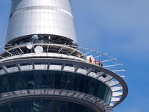 Detail of Sky Tower Royalty Free Stock Photo