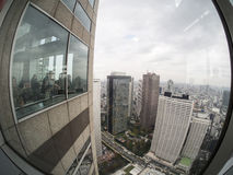 Observation Deck at Tokyo Metropolitan Government Building royalty free stock photos